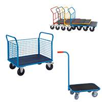View Plattform-, Seitenbügel-, CC-Wagen, Griffroller