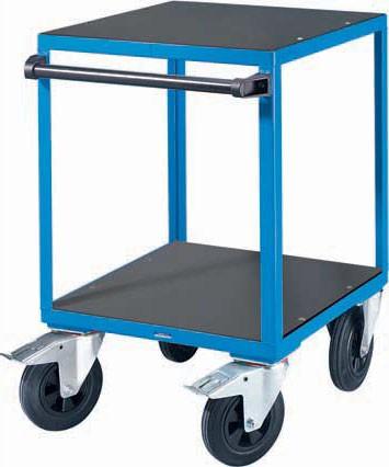 Mehrzweck Tischwagen, 2 Ebenen, bis 500 kg, klein