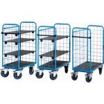 Etagenwagen bis 500 kg, 3-seitig