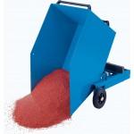 Blech-Kastenwagen mit kippbarem Kasten: 600l