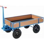 Handpritschenwagen, bis 1.000 kg, mit 4 Bordwänden