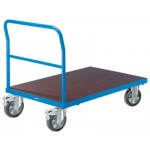 PLATTFORMWAGEN Für schwere Lasten Tragfähigkeit 1000 kg Bereifung: Vollelastik